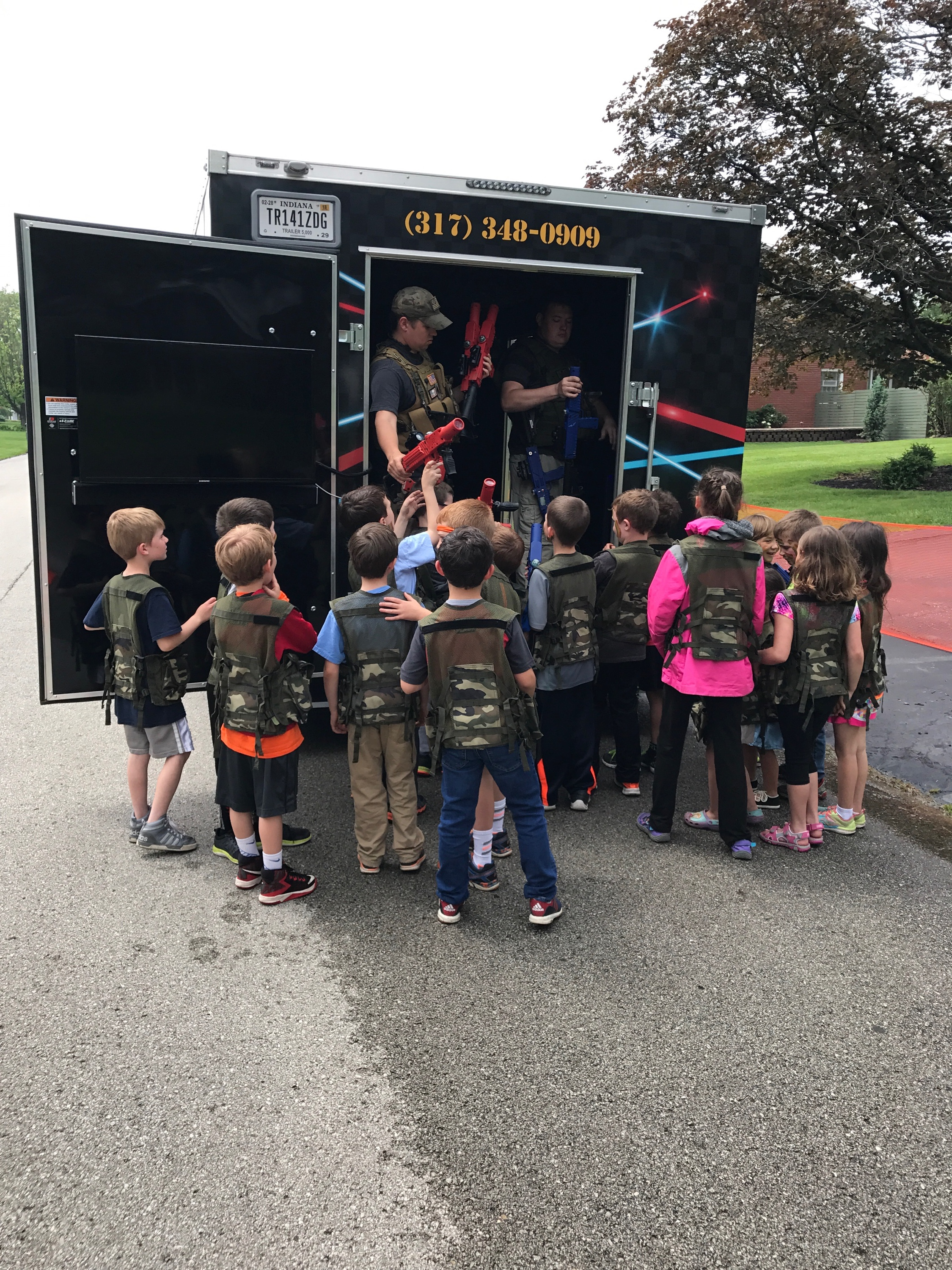 Video Game Truck Birthday Parties in Indianapolis Indiana